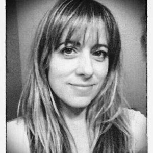 Black and White image of Bethany Cardwell